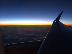Volando a España
